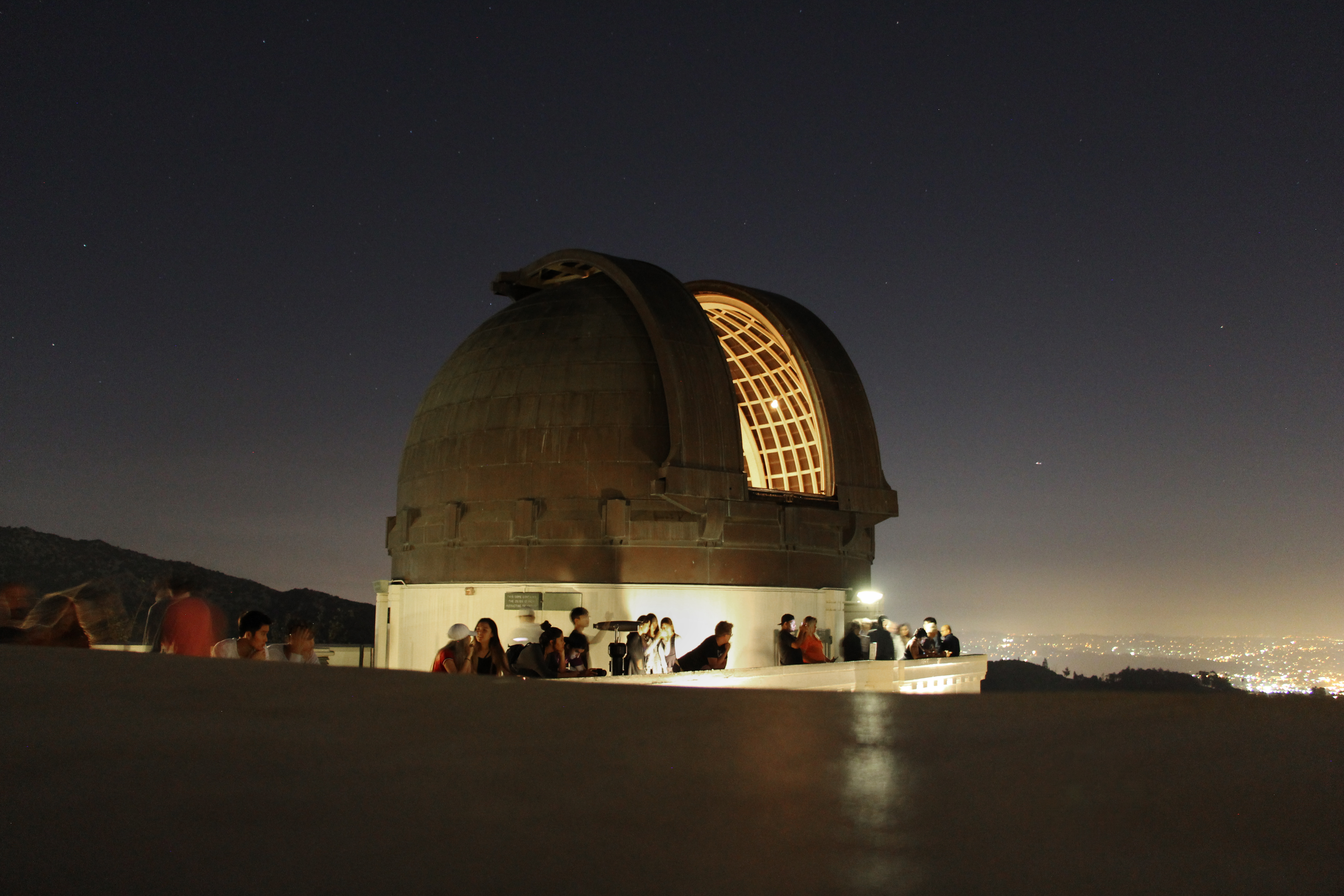 Griffith Observatory cost