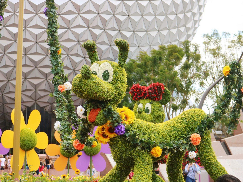 epcot international flower & garden festival - my belle elle