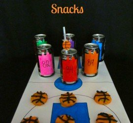 Basketball Themed Snacks