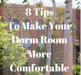 make your dorm room more comfortable