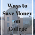 save money on college books