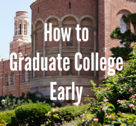 how to graduate college early