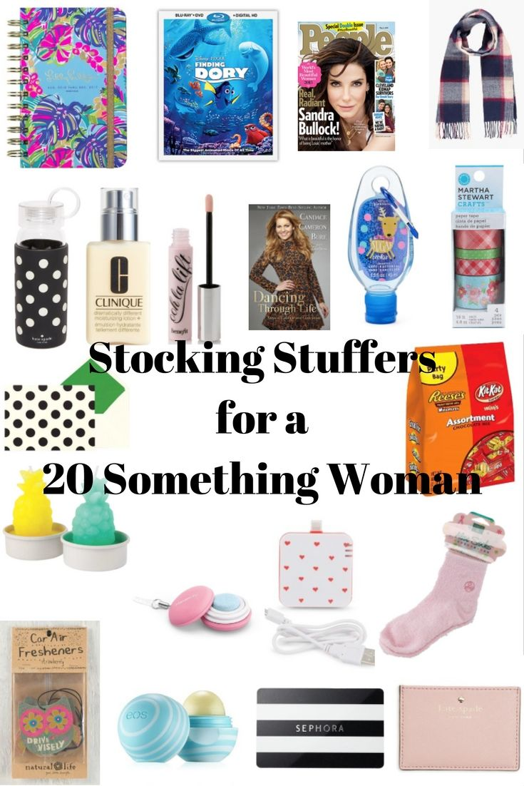 stocking stuffer ideas for a 20 something woman