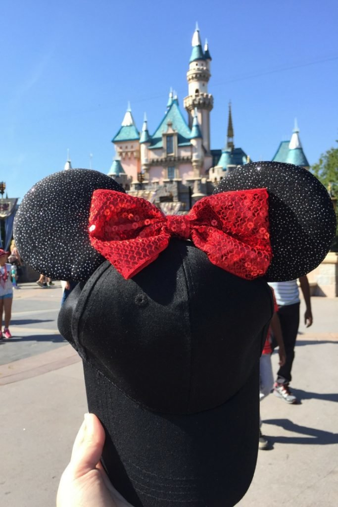 mickey mouse baseball hat