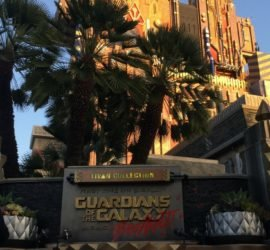 guardians of the galaxy ride at disney california adventure