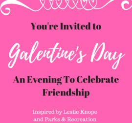 galantine's day invitation